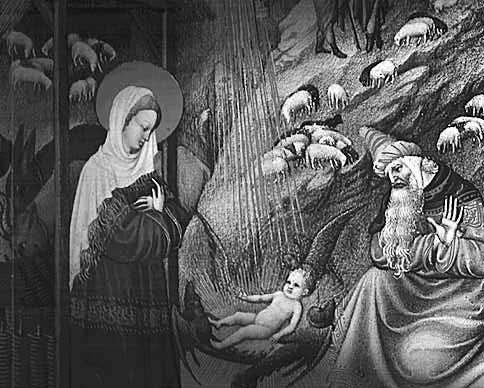 Geburt Jesu - Stundenbuch des Duc de Berry